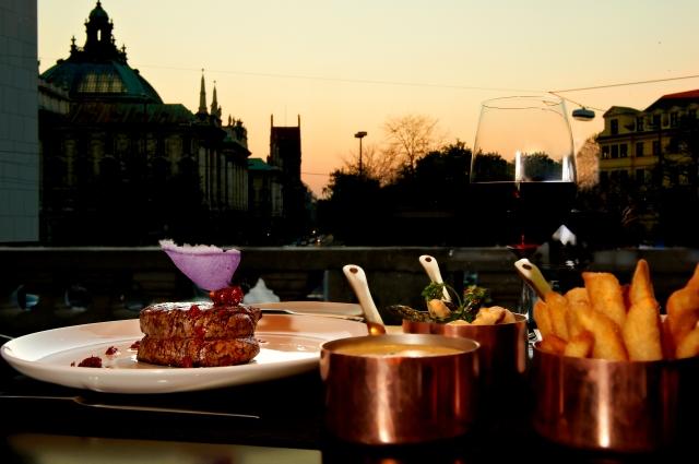 Steaks im The Grill München