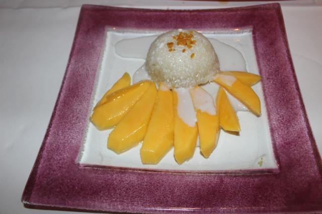 Niew Mamoang – Mango mit thailändischem Klebreis
