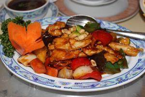 Hühnerfleisch Gung-Bao