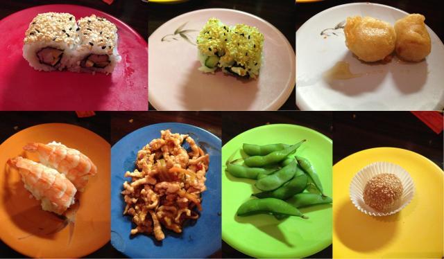 Collage Sushi King